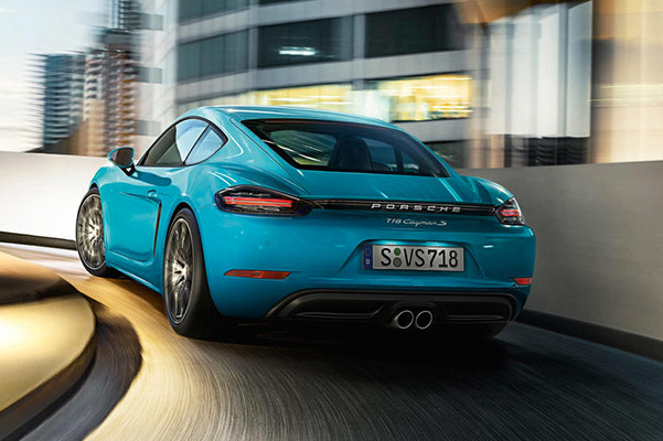 2019 Porsche 718 Cayman Specs & Performance