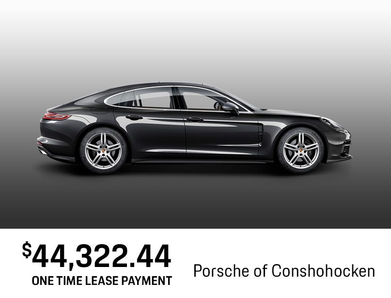 NEW 2018 PORSCHE PANAMERA Lease Special