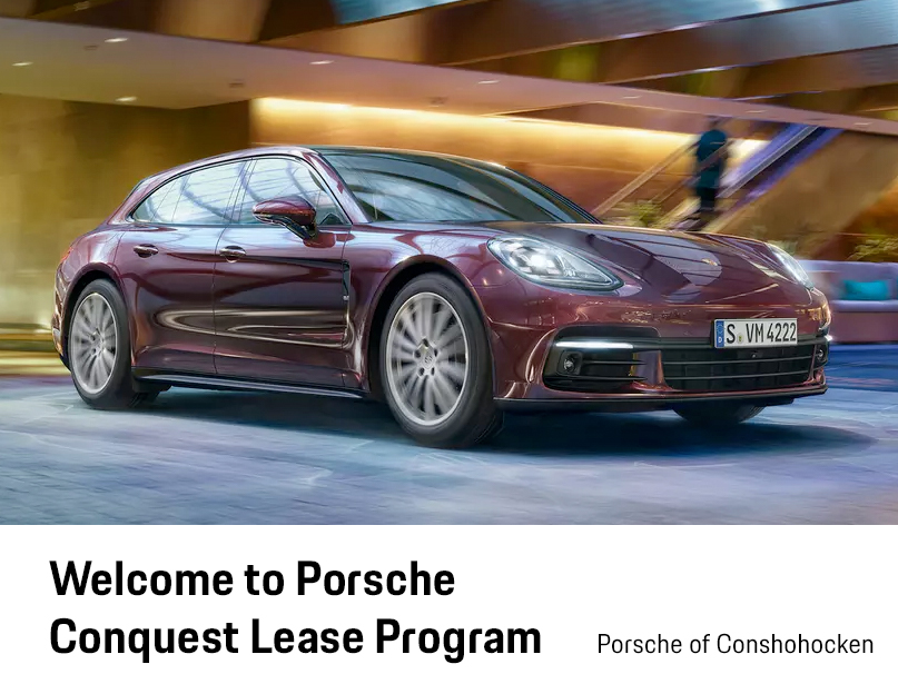 Welcome to Porsche Conquest Lease Program